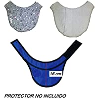 Funda PROTECTOR DE TIROIDES 16 cm aprox. Radiología, Rayos X, Enfermería. Zona