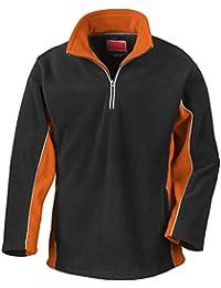 Result Tech3 Herren Sport Fleece-Pullover / Fleece-Oberteil, wasserabweisend, winddicht, Antipilling