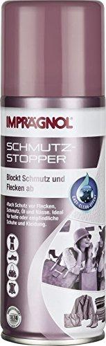 Imprägnol Schmutz-Stopper mit Easy-Clean-Effekt, Imprägnierspray 200ml: atmungsaktive Schutzschicht für Leder und Textilien