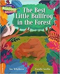 Best little bullfrog in the forest orange band