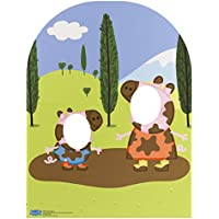 "Star Cutouts SC822 ""Peppa Pig y George muddy Puddle niño tamaño Soporte en cartón"" Cut Out"