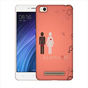 Snoogg And Yet Its Love Designer Protective Back Case Cover For Xiaomi Redmi 4A
