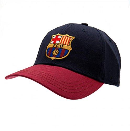 FC Barcelona Football Club Cotton Baseball Cap Hat Blue Maroon Badge Official (Neymar-kappe)