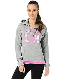 Aeropostale - Sweat à capuche - Sweatshirt - Femme Gris Gris 42