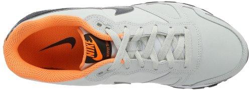 Nike Air Waffle Trainer Leather Unisex-Erwachsene Sneakers Grau (Grey/Grey-Heather 008)