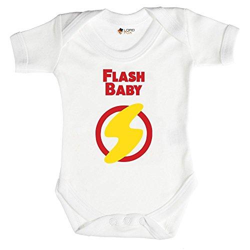 Flash Baby Funny Marvel Babygrow bebé crecer todos los tamaños Onesi