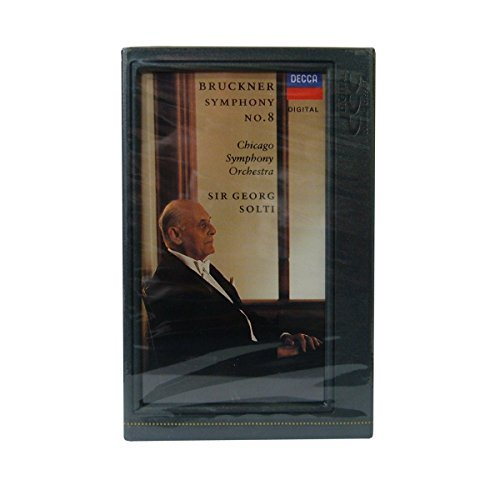 NEW Factory Sealed' DCC: Symphony No.8 in C Minor - Anton Buckner DCC Tape - Compatible with 'DIGITAL Compact Cassette' Machines Only (Philips Cassette Tape)