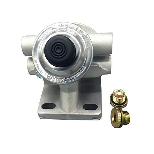 Pepional - Pompa per Diesel, Pompa dell'olio combustibile, Pompa a Mano, con valvola per Sedile in Alluminio, Accessorio per Volvo R90P EC210