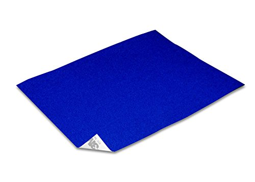 des Klebeband Reflexfolie Reflektorfolie Bogen Blau 250x180mm (Blau Bögen)