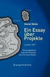 Ein Essay über Projekte, 1697