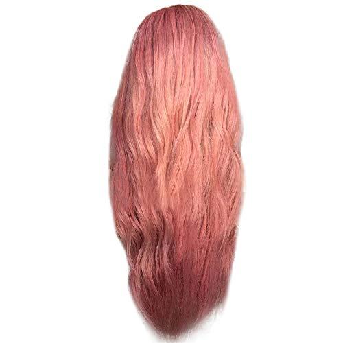 Amfirst Damen Sexy Perücke lockige Frauen Lang Haar Wig Dunkelbraun für Karneval oder Cosplay Party Fasching Kostüm Sexy Farbverlauf Cosplay Party perücken Locken mischfarben synthetische perücke