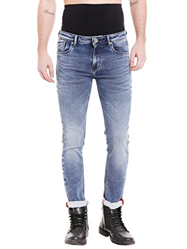 KILLER Men's Skinny Fit Jeans (E-9555 CABOT SKFT AMBRBL_Blue_30W x 34L)  available at amazon for Rs.2099