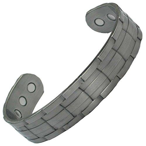 MPS NORAD Gotik Magnettherapie Armband, Geldbörse (Für EIN Handgelenk von 20 bis 23 cm)