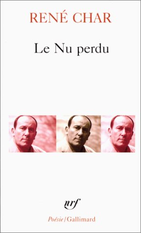 NU Perdu Et Autre Poem (Collection Pobesie)