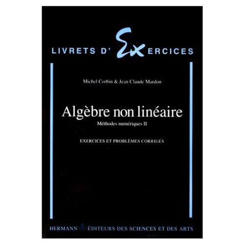 Algèbre non linéaire. Exercices et problèmes corrigés