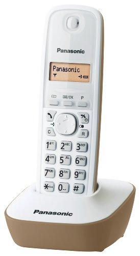 Panasonic Cordless KX TG1611JTJ Beige DECT Schnurlostelefon