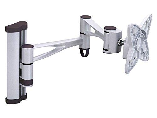 Monoprice 3Wege anpassbare neigbare Wandhalterung für LCD LED (Max. 14,9kg, 13~ 68,6cm)-Silber Flush-mount-lcd-tv