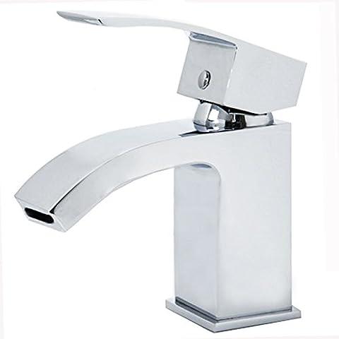 kangya en laiton de salle de bain lavabo robinet mitigeur cascade baignoire robinet de douche