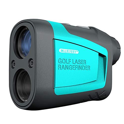 KOMOK Hochgenauer Golf-Entfernungsmesser, 600 m Messdistanz, 6 x HD-Augenlinse mit Schrägung, Reichweite, Fahnenmast, Geschwindigkeitsmodus, FDA-Zertifiziert