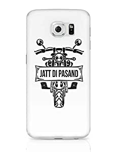 PosterGuy Samsung Galaxy S6 Case Cover - Jatt Di Pasand | Bullet SWAG | Designed by: Pooja Bindal