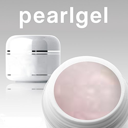 Farbgel Pearl Rose - Versiegelungsgel Diamond Dust N51 - CUTE NAILS