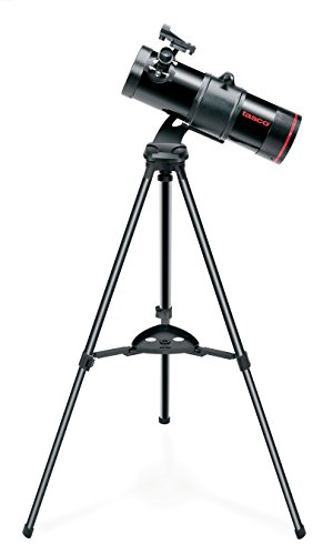 Tasco 114mm SpaceStation Reflector ST - Telescopio, Negro