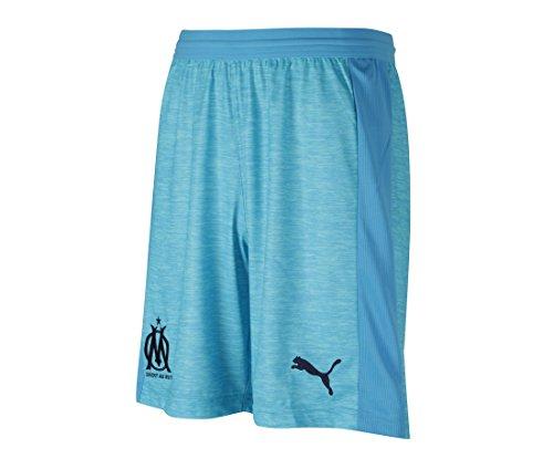 Puma 753560 Pantalon de Jogging Garçon, Bleu Azur White, FR Fabricant : Taille Unique
