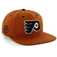 47 Brand NHL PHILADELPHIA FLYERS Burnt Orange Twill Oath Structured SNAPBACK Cap NEU/OVP