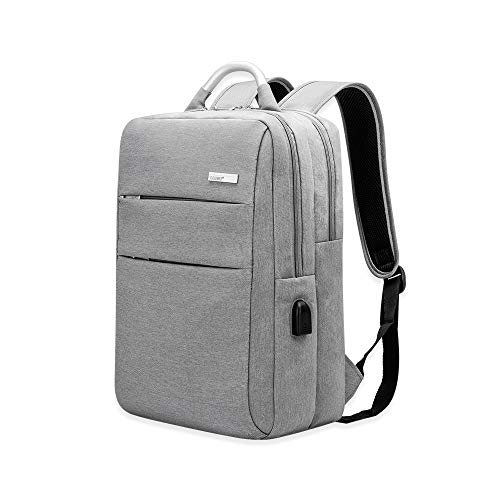 PolliciAntifurto Laptop Backpack 6 Zaino Men Usb Wawj 15 Pc Porta Con 7Yfyg6bv