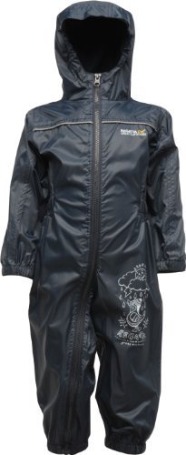 REGATTA PUDDLE RAIN SUIT WATERPROOF ALL IN ONE CHILDRENS KIDS CHILDS BOYS GIRLS