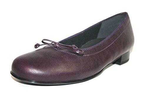 Theresia Muck - Halina 62304.091.816 Damen Schuhe Ballerinas Weite H Lila (mystic)