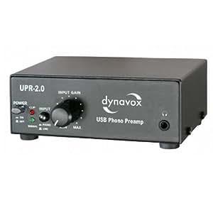 Dynavox Phono-Vorverstärker mit USB/UPR-2.0 schwarz