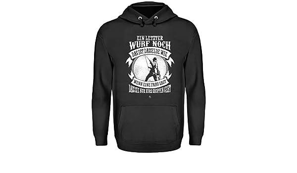 5b74d800b7f59e EIN lezter Wurf noch Cooler Spruch Angler T- Shirt Camping ...
