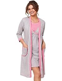 Happy Mama. De Las Mujeres Maternidad Hospital Nightie/túnica. Se venden por separado. 772p