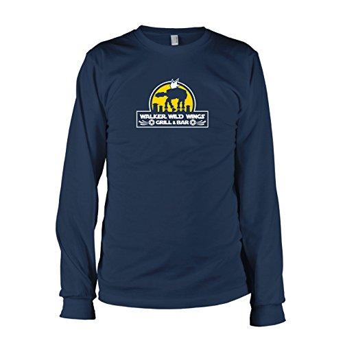 Star E Kostüm Walk Wars (TEXLAB - Walker Wild Wings - Langarm T-Shirt, Herren, Größe L,)