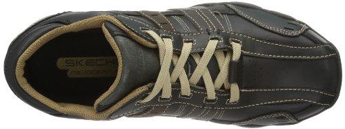 Skechers DiameterVassell Herren Sneakers Noir (Black Tan)