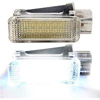 1LED, Interior De Coche Lámpara de luz para maletero de audia3/S3/S4/RS4+ A5/S5+ A6/S6/RS6+ A8/R8+ Q5/Q7+ TT/TTS (8N) todos los modelos