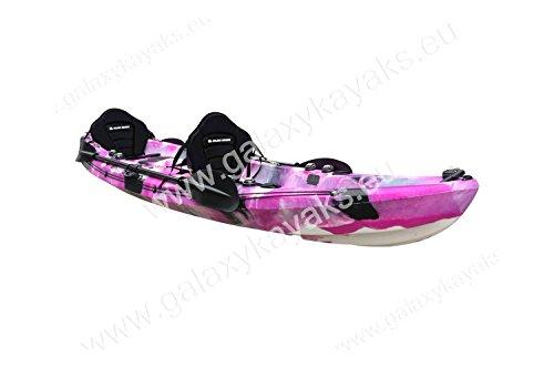 Kayak de Pesca Cruz Tandem Galaxy (Rosa)