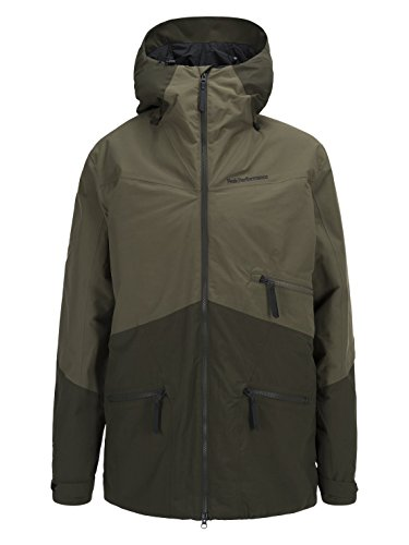 Peak Performance Greyhawk Ski Jacket Soil Olive - L
