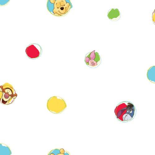 """Carta da parati per bambini con Winnie the Pooh\""""Pooh a bother free day\"""", collezione kids@homeIII"""
