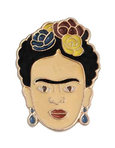 Pin de Solapa Frida Kahlo Esmaltado