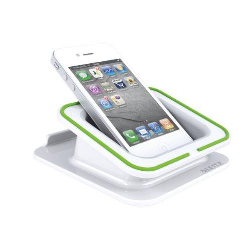 Preisvergleich Produktbild Leitz, Tischständer für iPad/Tablet, Hoch- oder Querformat, Complete, 62690001, weiß