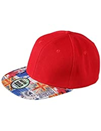 Myrtle Beach Trendy cap with peak in all-over design (red/city)
