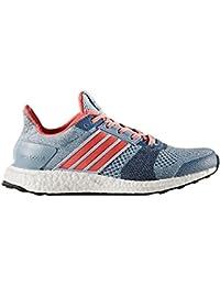 adidas ultra boost st  w - Zapatillas de running para Mujer, Azul - (AZUSEN/CORNEB/GRPUDG) 41 1/3