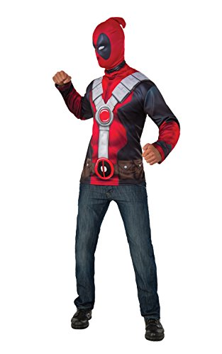 Uk Deadpool Kostüm (Kostüm T-Shirt mit Strumpfmaske Deadpool M /)