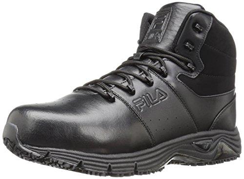 Steel Toe Slip (Fila Men's Memory Breach Work Slip Resistant Steel Toe Walking Shoe)