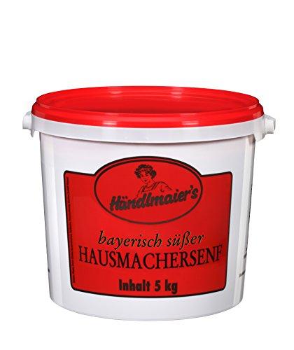 Händlmaier's Hausmachersenf süß Eimer, 1er Pack (1 x 5 kg)