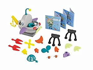 Octonauts Fisher Price Y5200 Toy Gup F - Build-a-Gup - Includes 25 Pieces and Building Blueprint