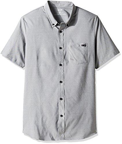 Camicia A Maniche Corte Oakley Icon Woven Neroout (S , (Oakley Woven Shirt)