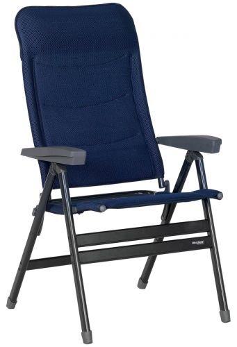 Westfield Faltstuhl Klappstuhl Advancer XL, blau, faltbar, Aluminium, belastbar bis 200 kg, Campingstuhl